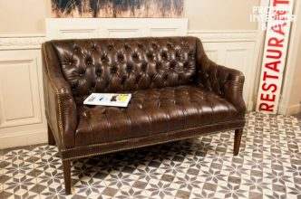 The Chesterfield sofa is a much-loved item of vintage furniture