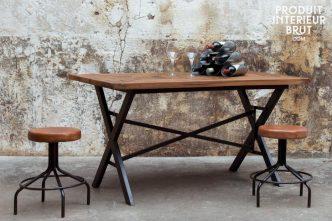 Actuellement en promo, cette table industrielle Cade – P.I.B.