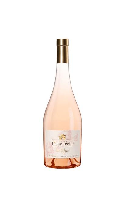 le rosé de l'Escarelle fait partie de meilleurs rosé de Provence