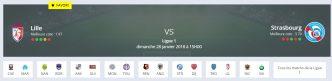 Quel pronostic lille strasbourg Ligue 1 allez-vous faire ?